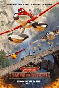 Cartel Película 'Aviones: Equipo de rescate'