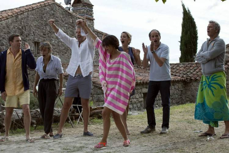Imagen de la película 'Barbacoa de amigos'