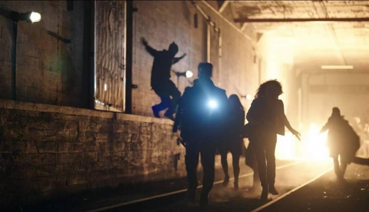 Fotograma de 'Anarchy: La noche de las bestias'