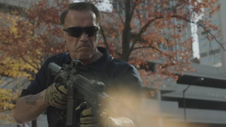 Arnold Schwarzenegger en la película 'Sabotaje'