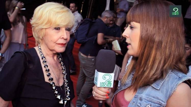 Concha Velasco en el estreno de #CHEF