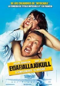 Cartel de la película 'Eyjafjallajokull o simplemente el volcán'