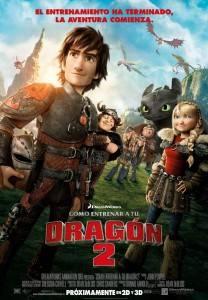 Cartel de la película 'Cómo entrenar a tu dragón'