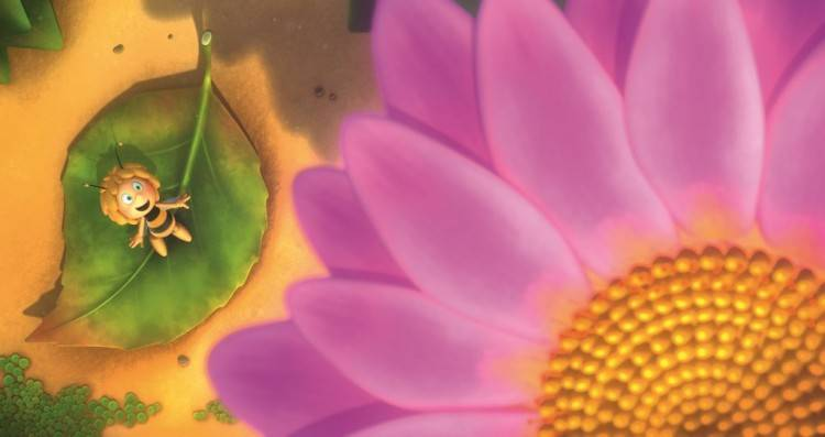 Imagen de película 'La abeja Maya'