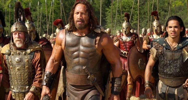 Imagen de la película 'Hércules' con Dwayne Johnson, La Roca.