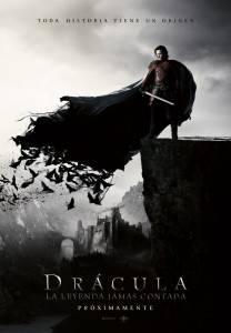 """Cartel de la película """"Drácula: La leyenda jamás contada"""""""