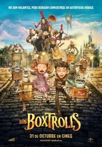 Cartel de la pelicula Los Boxtrolls