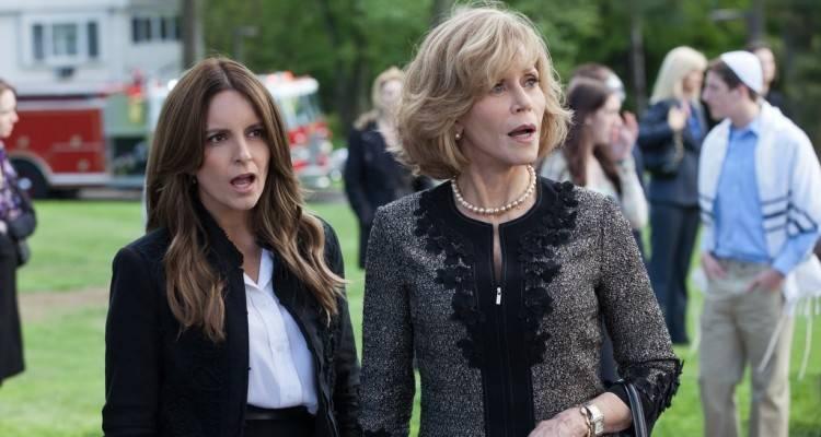 Jane Fonda y Rose Byrne en 'Ahí os quedáis'