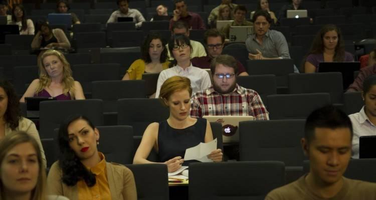 Jessica Chastain en 'La desaparición de Eleanor Rigby'