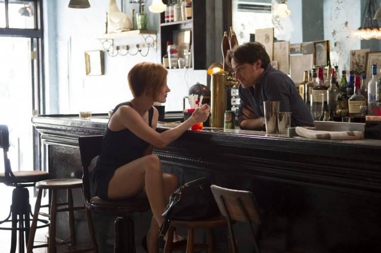 Jessica Chastain y Eyan Eggold en 'La desaparición de Eleanor Rigby'