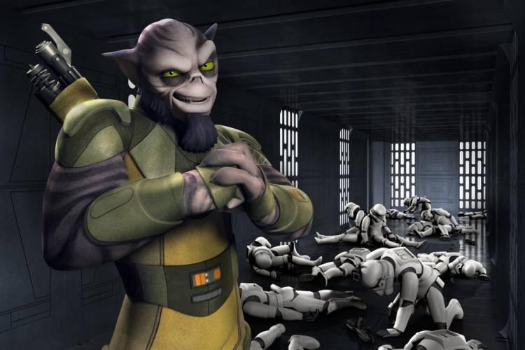 Zeb, el tío duro del grupo de 'Star Wars Rebels: La chsipa de la rebelión'