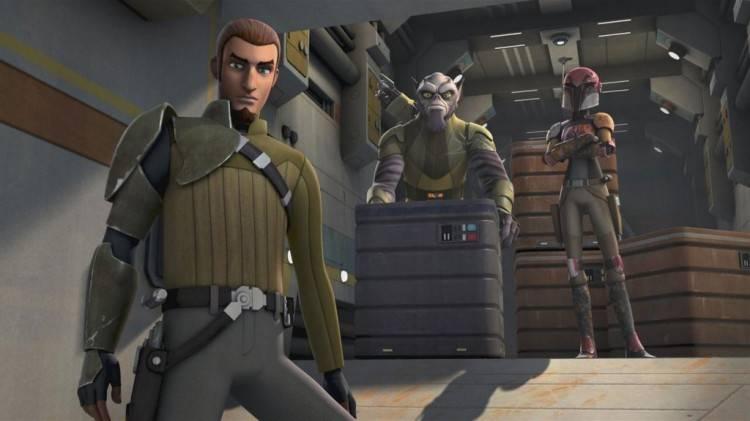 Kanan, el Jedi de 'Star Wars Rebels: La chsipa de la rebelión'