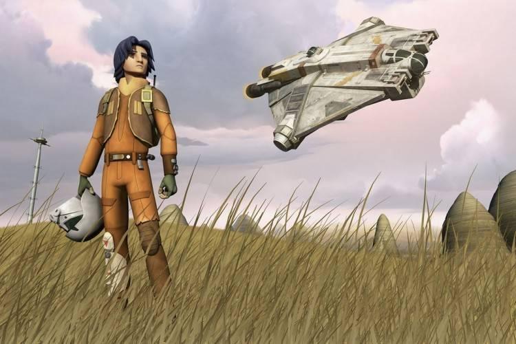 Ezral, protagonista de 'Star Wars Rebels: La chsipa de la rebelión'