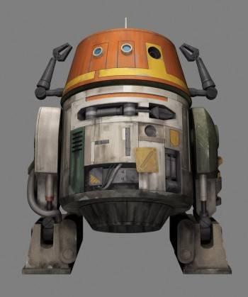 Chopper, el R2 más cascarrabias de 'Star Wars Rebels: La chsipa de la rebelión'