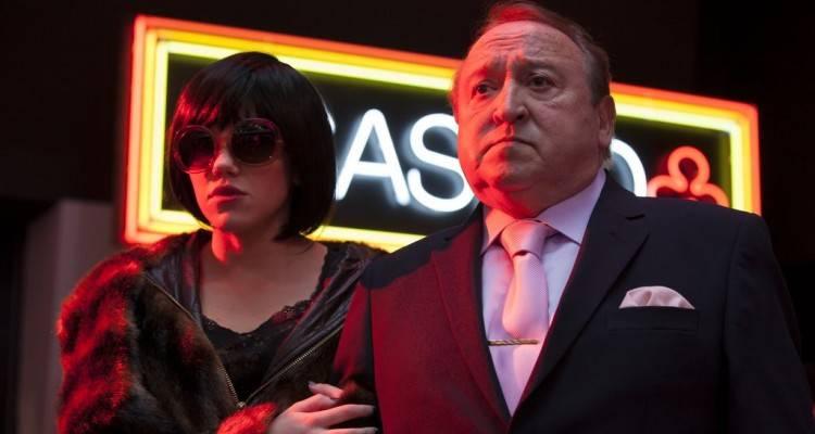 Fernando Esteso y Angy en 'Torrente 5: Operación Eurovegas'