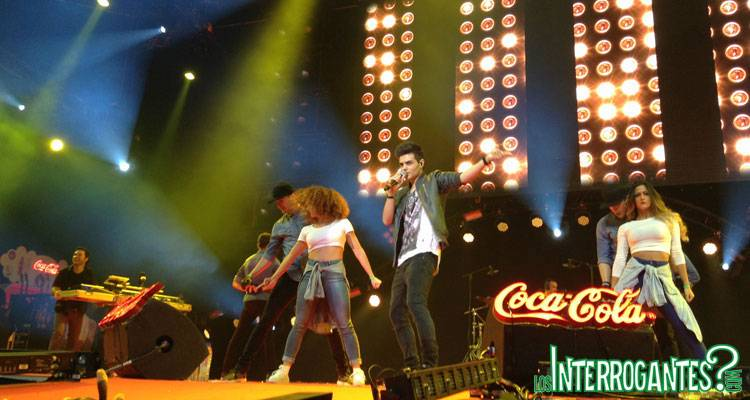 Abraham Mateo en Coca-Cola Music Experience 2014