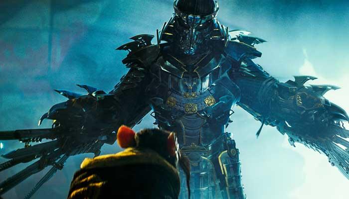 """Shredder, un """"transformer"""" con ganas de pelea, en la película 'Ninja Turtles' (Las Tortugas Ninja)"""