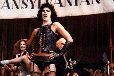 The Rocky Horror Picture Show, escena de la película