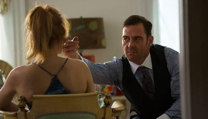 Marton Csokas y Haley Bennett en una escena de la película 'The equalizer'