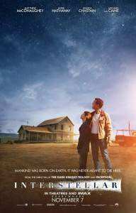 Cartel de la película 'Interstellar' (Interestelar)