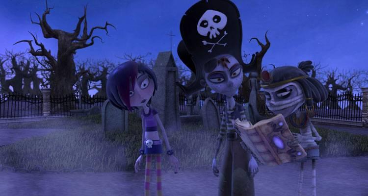 Imagen de la película de animación 'Dixie y la rebelión zombi'