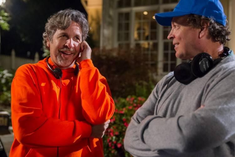 Peter y Bobby Farrelly, directores de 'Dos tontos todavía más tontos'