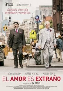Cartel de la película 'El amor es extraño'