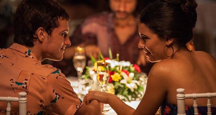 Josh Hutcherson y Claudia Traisac, la pareja de enamorados de 'Escobar: Paraíso perdido'