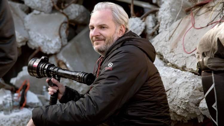 """Foto del director Francis Lawrence de la película """"Sinsajo Parte I"""""""