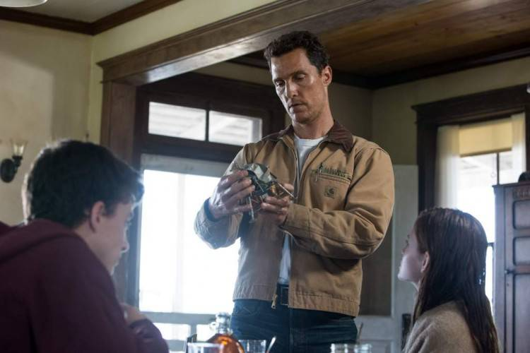 Matthew McConaughey - Foto película 'Interstellar' (Interestelar)