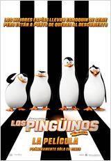 Los pingüinos de Magadascar - Cartel