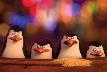 Imagen de la película 'Los pingüinos de Magadascar'
