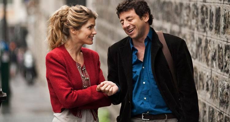 Alice Taglioni y Patrick Bruel en 'Paris-Manhattan'