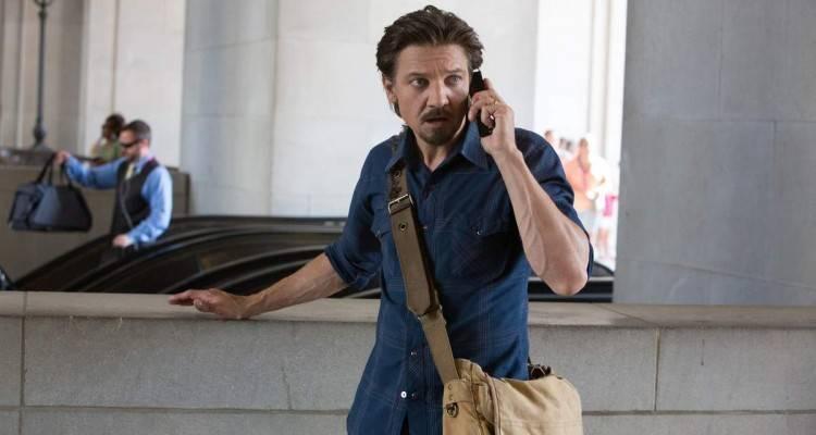 Jeremy Renner en la película 'Matar al mensajero'