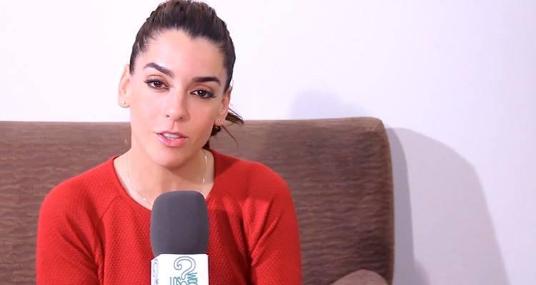 Ruth Lorenzo durante la entrevista hablando de su disco 'Planeta azul'