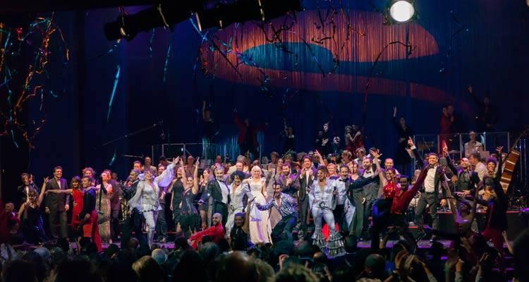 """Todo el elenco de """"15 años de musicales: concierto aniversario Stage Entertainment"""""""
