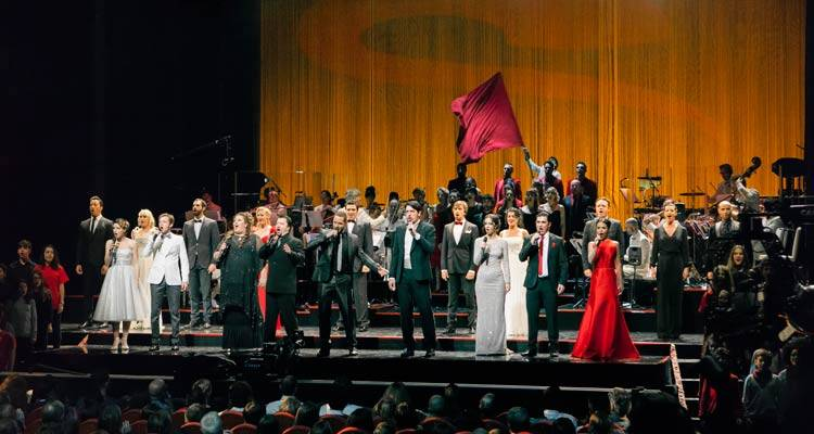 "Musical Los Miserables para ""15 años de musicales: concierto aniversario Stage Entertainment"""