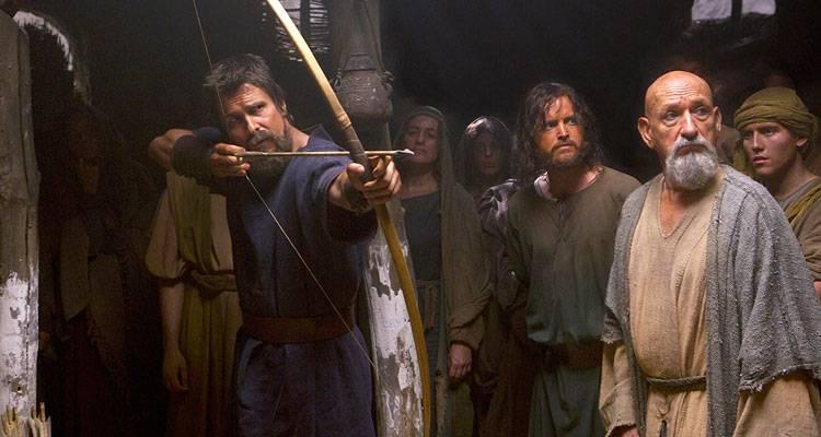 Imagen de Ben Kingsley y Christian Bale en una escena de 'Exodus: Dioses y reyes'