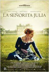 La señorita Julia - Cartel