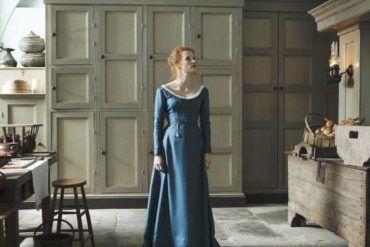 """Imagen de Jessica Chastain en la película """"La señorita Julia"""""""