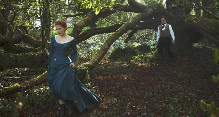 """Imagen de Jessica Chastain y Colin Farrell en la película """"La señorita Julia"""""""