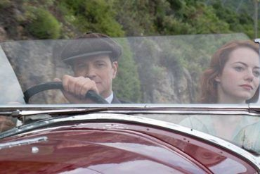 Imagen de Colin Firth y Emma Stone en una escena de 'Magia a la luz de la luna'