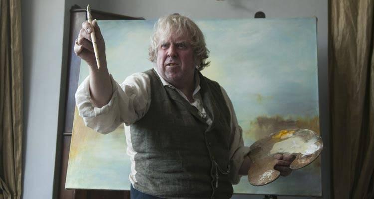 "Imagen de Timothy Spall como ""Mr. Turner"" (2014)"