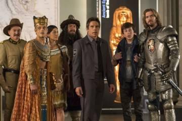 """Imagen de una escena de la película """" Noche en el museo 3: El secreto del Faraón"""""""