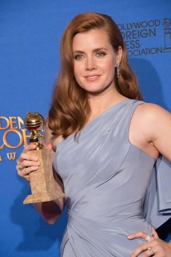 Amy Adams, Globo de Oro a Mejor Actriz de Comedia © HFPA