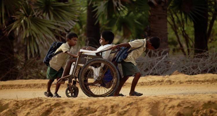 "Foto del documental ""Camino a la escuela"""