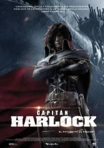 Cartel de 'Capitán Harlock'