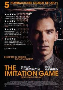 "Cartel de la película ""The Imitation Game"""