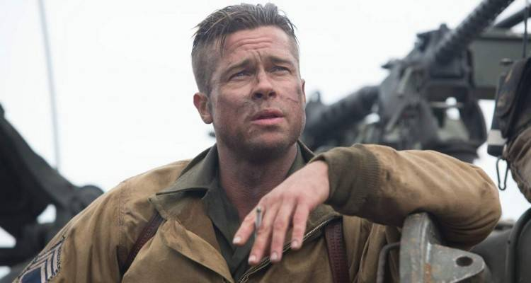 "Foto de ""Corazones de Acero"" - Brad Pitt"