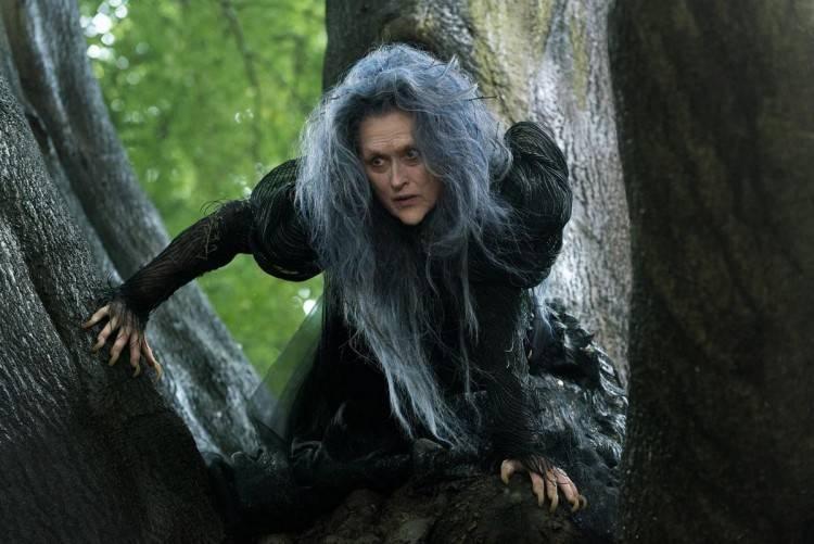 Meryl Streep es La Bruja - Into the woods.